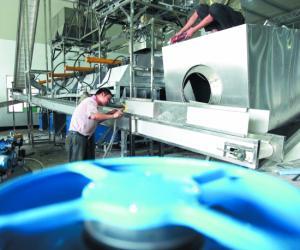 全国首条现代乌龙茶全自动生产线落户安溪