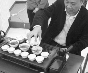 """""""海峡两岸老茶品鉴会""""在厦门举行"""