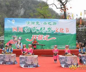 2015四川平武绿茶文化节隆重开幕